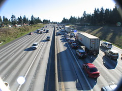 Rush Hour on I-5, Seattle, WA