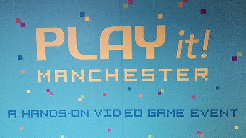 Today is all about...Play it! Manchester