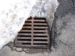 Snow and Sewer Grate