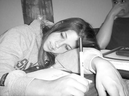 sleep in class