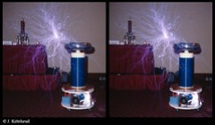 1 million volt Tesla coil