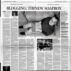 Vancouver Sun Article on Blogging