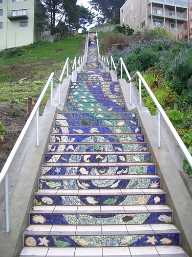 Mosaic Stairs On Flickr U2013 Photo Sharing! San Francisco California