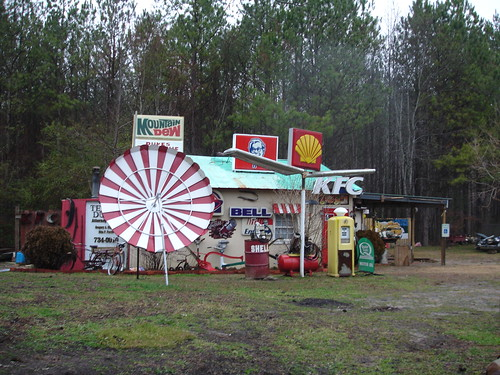Mountain Fried Shell Bell Station.  Free HBO. Cullman County AL