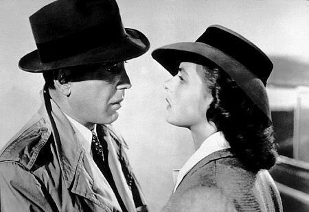 Bogart y Bergman