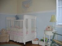 Post pics of nursery chair rail.........