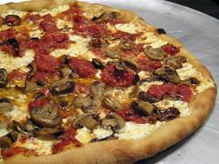Homemade Shallot-and-Mushroom Pizza