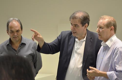 Luciano Araújo, Mauro Oscar Lima e José Maria Facundes - Projeto Fios de Amor - Foto Emmanuel Franco