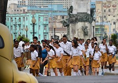 Girls _ boys, gender equality in education (Cuba) - Véronique MAGNIN