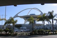 The Theme Building at Los Angeles Internationa...