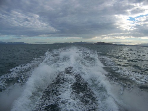 leaving the mainland