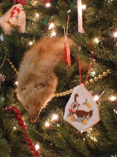 Weasel Ornament