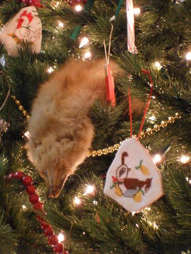 Weasel Ornament