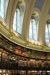 British Museum Library interior by .m for matthijs