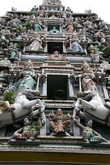 sri maha mariamman temple's gate
