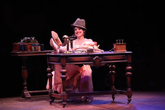 Glory Crampton as Eliza Doolittle in My Fair Lady, produced by Music Circus at the Wells Fargo Pavilion June 9-14, 2015. Photos by Charr Crail.
