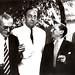 Portinari e seus amigos escritores: Graciliano Ramos, Pablo Neruda e Jorge Amado. Rio de Janeiro, 1952.