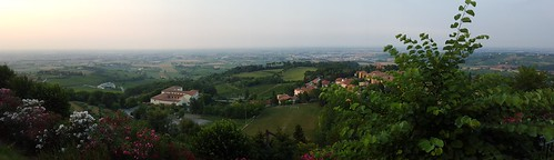 "Panoramic view from the Bertinoro castle - Forli, Italy • <a style=""font-size:0.8em;"" href=""http://www.flickr.com/photos/104409572@N02/18886061543/"" target=""_blank"">View on Flickr</a>"