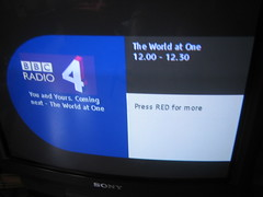 BBC Radio 4 - The World at One.