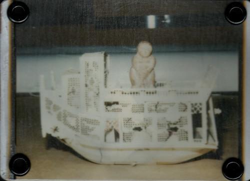 ATC:  Baubo Cruises the Love Boat