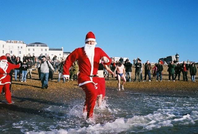 christmass day swim - charge