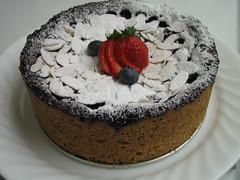 Mixed Berry Earl Grey Cake