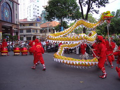 Traditional Dragon Dance