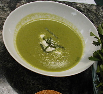 Curried Pea Soup
