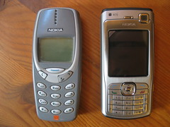 New phone / old phone
