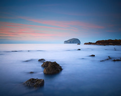 """Bass Rock from Seacliff Beach III, East Lothian • <a style=""""font-size:0.8em;"""" href=""""http://www.flickr.com/photos/26440756@N06/31656231893/"""" target=""""_blank"""">View on Flickr</a>"""
