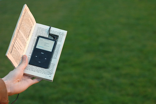 ipod in a book