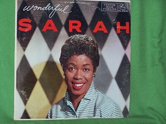Sarah Vaughan, Wonderful Sarah (front)