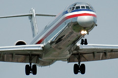 MD-80 by a Nose