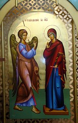 Annunciation Icon, by jclor