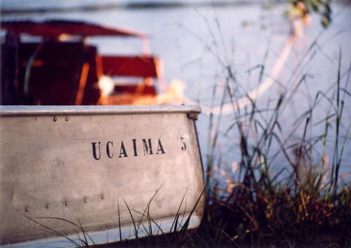 Canoe in Canaima