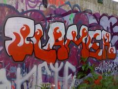 Flamer graffiti