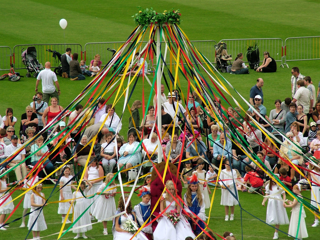Maypole Dance, May Day