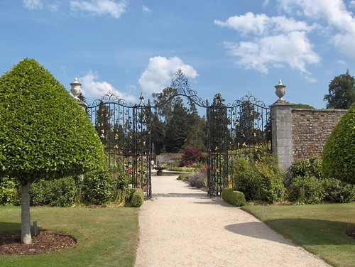Entrance to the Walled Gardens