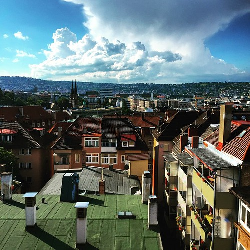 Über den Dächern II  @ #Heusteigviertel #Fest #0711 #Stuttgart