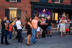 Steeple Street Music Stage Audience