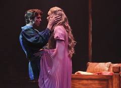 Sean Hayden and Lisa O'Hare in Camelot at Music Circus August 2-7. Photo by Charr Crail.