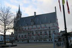 Gouda Town Hall from the side
