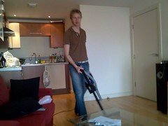 Jon cleaning