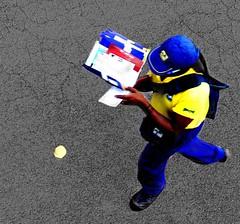 Carteiros e as entregas das cartas