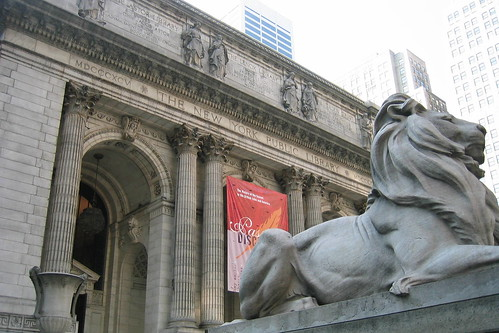 New York Public Library (courtesy of wallyg)