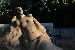 "Фигура из песка, парк Сокольники • <a style=""font-size:0.8em;"" href=""http://www.flickr.com/photos/87533207@N05/18122020044/"" target=""_blank"">View on Flickr</a>"