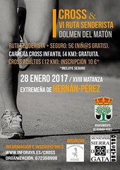 Carrera Popular Cross Dolmen Matón