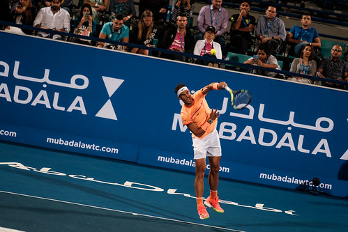 """Rafael Nadal's Service • <a style=""""font-size:0.8em;"""" href=""""http://www.flickr.com/photos/125636673@N08/31873262641/"""" target=""""_blank"""">View on Flickr</a>"""