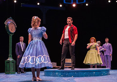 Larry Raben, Amanda Jane Cooper, Nathaniel Hackmann, Sainty Nelsen, Kathryn Mowat Murphy & Steve Geary and the company in Bye Bye Birdie, produced by Music Circus at the Wells Fargo Pavilion July 7-12, 2015. Photo by Kevin Graft.