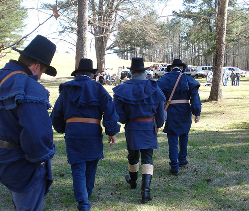 Reenactors at 192nd Anniversary of the Battle of Horseshoe Bend